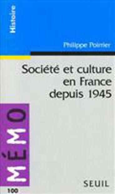 Image de Société et culture en France depuis 1945