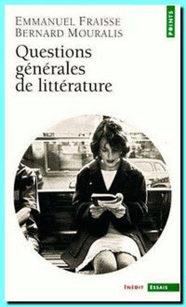 Image de Questions générales de littérature