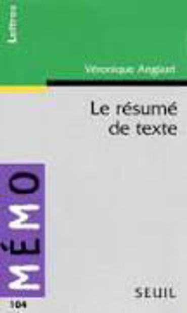 Image de Le résumé de texte