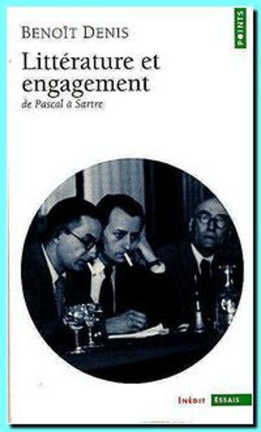 Image de Littérature et engagement : de Pascal à Sartre