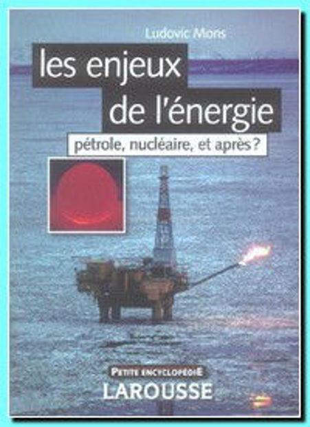 Image de Les enjeux de l'énergie: pétrole, nucléaire et après?