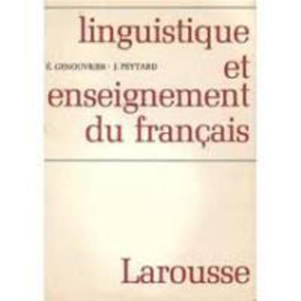 Image de Linguistique et enseignement du français