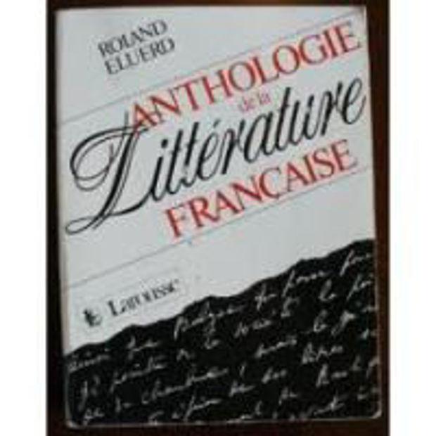 Image de Anthologie de la Littérature Française