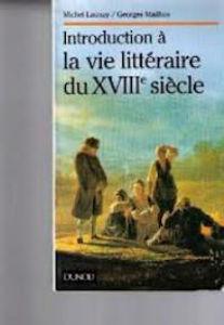 Image de Introduction à la vie littéraire du XVIIIe siècle