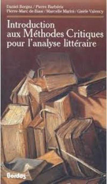 Image de Introduction aux Méthodes Critiques pour l'Analyse Littéraire