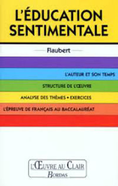 Image de L'Education sentimentale de Flaubert