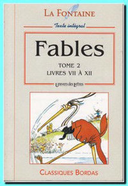 Image de Fables tome 2 - Livres VII à XII
