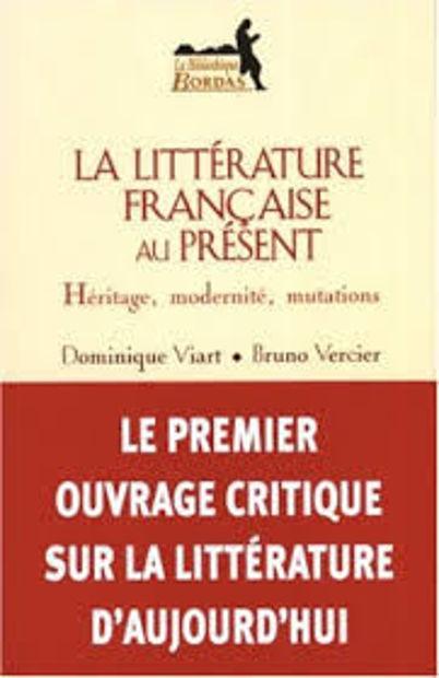 Image de La Littérature française au présent