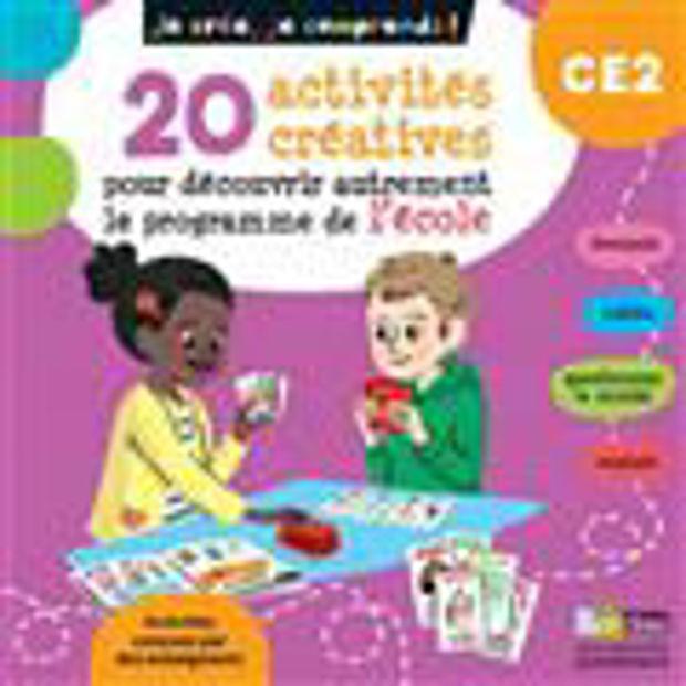 Image de 20 activités créatrices pour découvrir autrement le programme de l'école - CE2