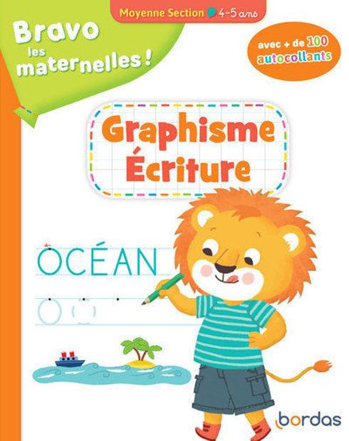 Image de Bravo les maternelles ! : graphisme, écriture moyenne section, 4-5 ans