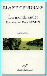 Image de Du monde entier : poésies complètes 1912-1924
