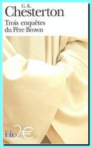 Image de Trois enquêtes du Père Brown