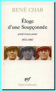 Image de Eloge d'une Soupçonnée précédé d'autres poèmes 1973 - 1987