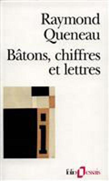 Image de Bâtons, chiffres et lettres