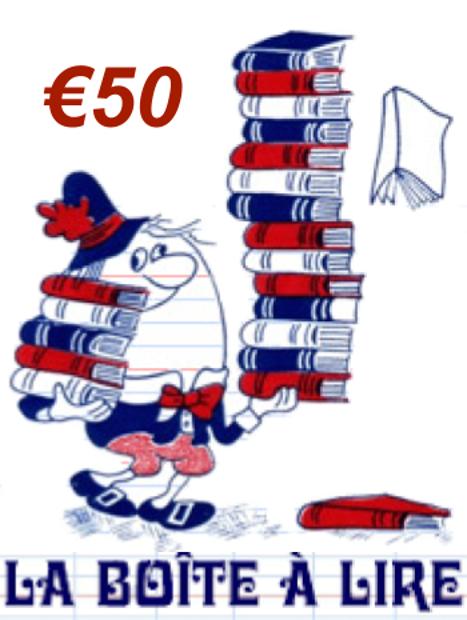 Image de Bon d'achat 50 Euros