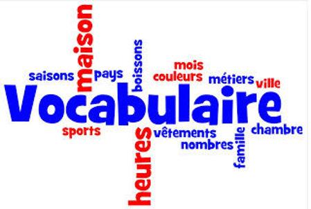Image de la catégorie Vocabulaire