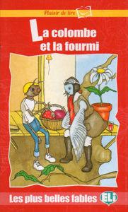 Image de La colombe et la fourmi - Plaisir de lire - rouge