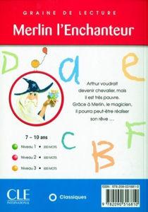 Image de Merlin l'enchanteur - Graine de lecture niveau 2 (300 mots)
