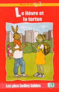 Image de Le lièvre et la tortue - Plaisir de lire - rouge