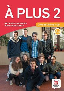 Image de A plus 2 - livre de l'élève + CD