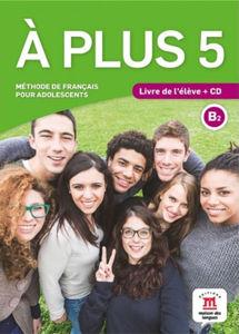 Image de A plus 5 - livre de l'élève + CD