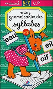 Image de Mon grand cahier des syllabes - no. 2