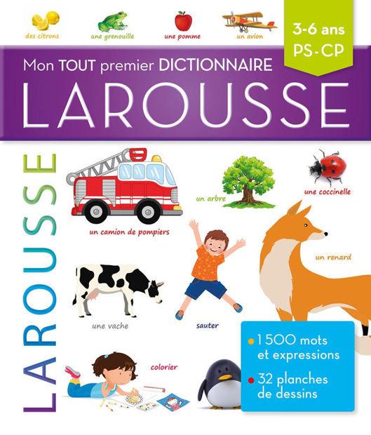 Image de Mon tout premier dictionnaire Larousse : 3-6 ans, PS-CP