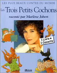 Image de Les Trois petits cochons raconté par Marlène Jobert
