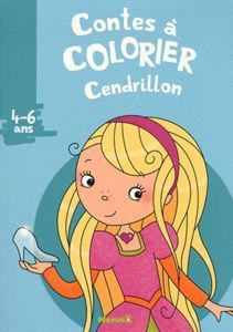 Image de Cendrillon - conte à colorier 4-6 ans