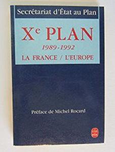 Image de Xème Plan. 1989-1992