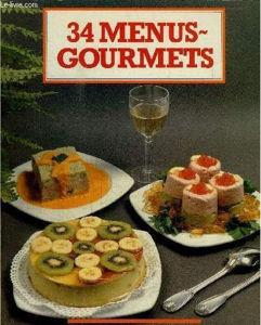 Image de 34 menus gourmets