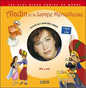 Image de Aladin et la lampe merveilleuse raconté par Marlène Jobert
