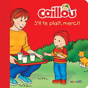 Image de Caillou s'il te plaît, merci !