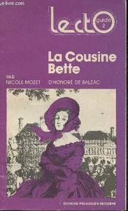 Image de La Cousine Bette. Honoré de Balzac